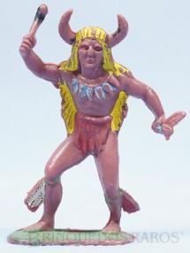 1. Brinquedos antigos - Casablanca e Gulliver - Feiticeiro da tribo Gulliver numerado 28 Década de 1970