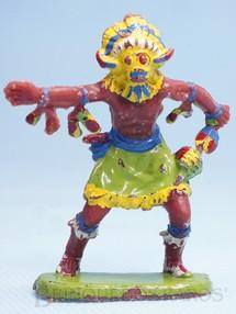 Brinquedos Antigos - Casablanca e Gulliver - Feiticeiro da Tribo Índio Bruxo Casablanca numerado 136