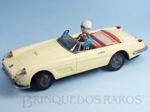 1. Brinquedos antigos - Bandai - Ferrari 250 GT LWB California Spider 1958 conversível Motorista com movimento Década de 1960