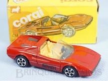 1. Brinquedos antigos - Corgi Toys-Kiko - Ferrari 308 GTS Brazilian Corgi Jr Kiko Década de 1980