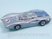 Brinquedos Antigos - Politoys e Polistil - Ferrari 330 P2 Concept Car Pininfarina prata Polistil Década de 1970