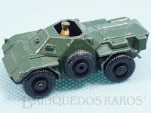1. Brinquedos antigos - Matchbox - Ferret Scout Car Black Plastic Regular Wheels