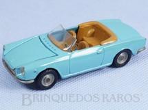 1. Brinquedos antigos - Politoys e Polistil - Fiat 124 Sport Politoys Década de 1970