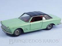 1. Brinquedos antigos - Solido-Brosol - Fiat 2300/S Cabriolet Ghia verde claro com capota preta Fabricado pela Brosol Solido brésilienne Datada 3-1964