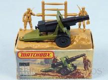 1. Brinquedos antigos - Matchbox - Field Gun Superfast