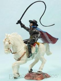 1. Brinquedos antigos - Casablanca e Gulliver - Figura completa do Zorro com cavalo branco Série Heróis Perfeito estado 100% original Década de 1970
