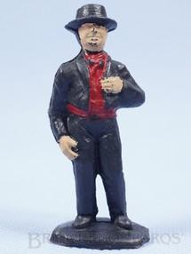 1. Brinquedos antigos - Casablanca e Gulliver - Figura do Bernardo Série O Zorro distribuído pela Trol Década de 1970