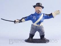 1. Brinquedos antigos - Casablanca e Gulliver - Figura do Sargento Garcia Série O Zorro Década de 1970 distribuído pela Trol Década de 1970