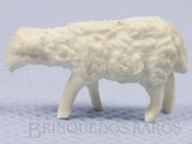 1. Brinquedos antigos - Casablanca e Gulliver - Filhote de ovelha Série Fazenda Chaparral Década de 1970