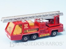 1. Brinquedos antigos - Matchbox - Fire Tender Super Kings