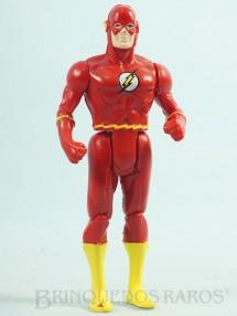 1. Brinquedos antigos - Estrela - Flash articulado Coleção Super Powers Ano 1987