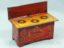 1. Brinquedos antigos - Wida - Fogão com 9,00 cm dealtura Coleção Carlos Augusto Ano 1929