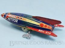 Brinquedos Antigos - Bell - Foguete Meteor com 19,00 cm de comprimento