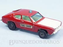 Brinquedos Antigos - Corgi Toys-Corgi Jr. - Ford Capri Fire Chief Corgi Jr Whizzwheels
