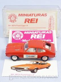 1. Brinquedos antigos - Schuco-Rei - Ford Capri II Schuco Modell Brasilianische Schuco Rei completo com Catálogo e Cromo