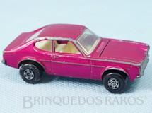 1. Brinquedos antigos - Matchbox - Ford Capri Superfast vermelho metálico