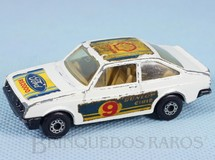 1. Brinquedos antigos - Matchbox - Ford Escort RS 2000 Superfast