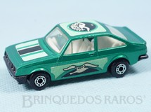 1. Brinquedos antigos - Matchbox - Ford Escort RS 2000 Superfast verde Seagull