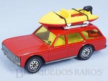 1. Brinquedos antigos - Siku-Rei - Ford Granada Turnier vermelho com Bote à motor Brasilianische Siku Alfema