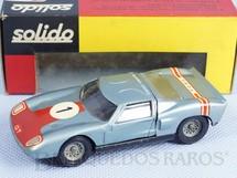 Brinquedos Antigos - Solido-Brosol - Ford GT Le Mans azul met�lico Fabricado pela Brosol Solido br�silienne Datado 3-1966