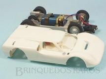 1. Brinquedos antigos - Estrela - Ford J Branco Chassi de alumínio basculante