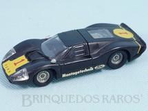 1. Brinquedos antigos - Solido-Brosol - Ford Mark IV Le Mans preto Fabricado pela Brosol Solido brésilienne Datado 2-1969