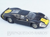 Brinquedos Antigos - Solido-Brosol - Ford Mark IV Le Mans preto Fabricado pela Brosol Solido br�silienne Datado 2-1969