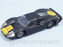Brinquedos Antigos - Solido-Brosol - Ford Mark IV Le Mans preto Fabricado pela Brosol Solido brésilienne Datado 2-1969