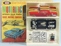 Brinquedos Antigos - Ideal - Ford Mustang GT 1966 com 11,00 cm de comprimento Série Motorrific Década de 1960