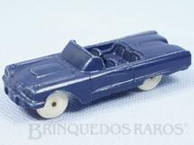 1. Brinquedos antigos - F.F. Mold Inc. - Ford Thunderbird com 8,00 cm de comprimento Década de 1950