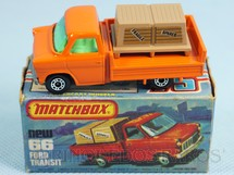 Brinquedos Antigos - Matchbox - Ford Transit Superfast unpainted base