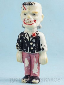 1. Brinquedos antigos - Casablanca e Gulliver - Frankstein com 9,00 cm de altura Década de 1970