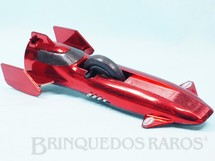 Brinquedos Antigos - Estrela - Furac�o vermelho metalizado S�rie Super S�nica com som e fa�scas Ano 1976
