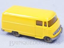 1. Brinquedos antigos - Wiking - Furgão Mercedes Benz Década de 1970