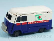 1. Brinquedos antigos - Nomura Toys - Furgão Postal Truck com 9,00 cm de comprimento Década de 1960