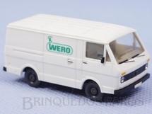 1. Brinquedos antigos - Wiking - Furgão Volkswagen LT 28 Wero Década de 1980