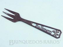 Brinquedos Antigos - Sem identificação - Garfo com 12,00 cm de comprimento Brinde Bolo Pullman Década de 1960
