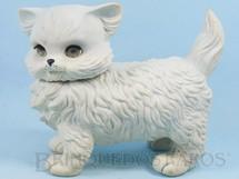 Brinquedos Antigos - Estrela - Gato Frou Frou com 20,00 cm de altura Olhos de dormir e apito Ano 1963