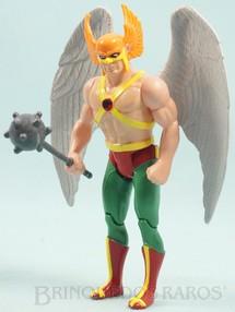 1. Brinquedos antigos - Estrela - Gavião Negro articulado completo Coleção Super Powers Ano 1988
