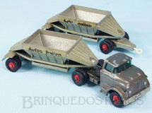 Brinquedos Antigos - Matchbox - GMC Tractor and Freuhof Hopper Train King Size Autos Halten decal