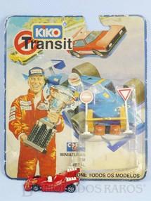 1. Brinquedos antigos - Corgi Toys-Kiko - Grand Prix Racer vermelho Shell Brazilian Corgi Jr Kiko Perfeito estado Blister aberto