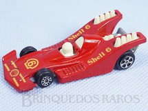 Brinquedos Antigos - Corgi Toys-Kiko - Grand Prix Racer vermelho Shell Brazilian Corgi Jr Kiko Perfeito estado Blister aberto