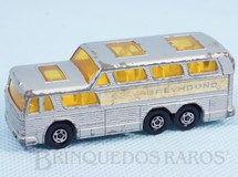 Brinquedos Antigos - Matchbox - Greyhound Bus Superfast Transitional Weels