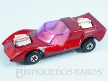 Brinquedos Antigos - Matchbox - Gruesome Twosome Superfast laranja