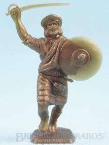 1. Brinquedos antigos - Sem identificação - Guerreiro Highlander brinde Sucrilhos Kelloggs Década de 1970