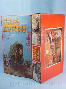 1. Brinquedos antigos - Casablanca e Gulliver - Gulliver Caixa Texas Express Ano 1986