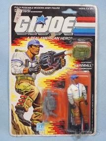 1. Brinquedos antigos - Hasbro - Hardball Multi-Shot Grenadier completo Blister lacrado Ano 1987
