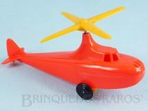1. Brinquedos antigos - Trol - Helicóptero com 12,50 cm de comprimento Movimenta a hélice conforme giram as rodas Coleção Miguel Cerrato Década de 1950