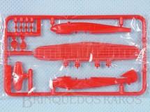 1. Brinquedos antigos - Sem identificação - Hidroavião Atlanta com 6,50 cm de envergadura Brinde dos Sucrilhos Kelloggs Embalagem lacrada ainda por montar Década de 1960