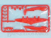 1. Brinquedos antigos - Sem identificação - Hidroavião Flying Boat com 6,00 cm de envergadura Brinde dos Sucrilhos Kelloggs Embalagem lacrada ainda por montar Década de 1960